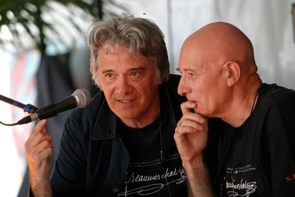 Jean-François Prévand (SNMS) et Michel Azema (EAT)