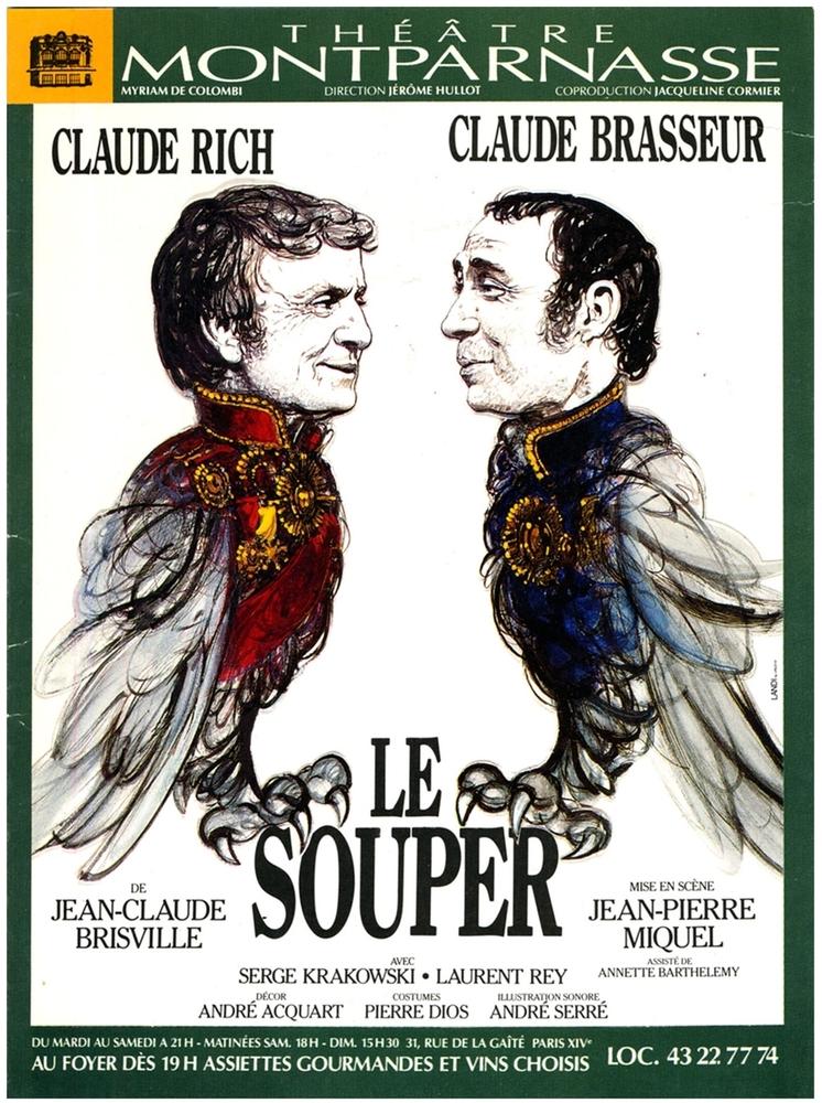 Affiche de la pièce jouée au Théâtre Montparnasse