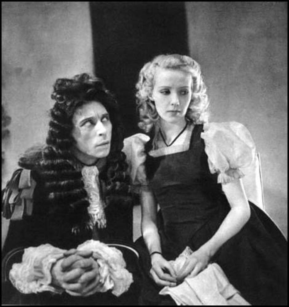 Louis Jouvet et Madeleine Ozeray dans