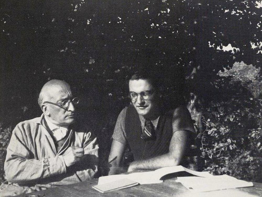 Jacques Copeau et André Barsacq