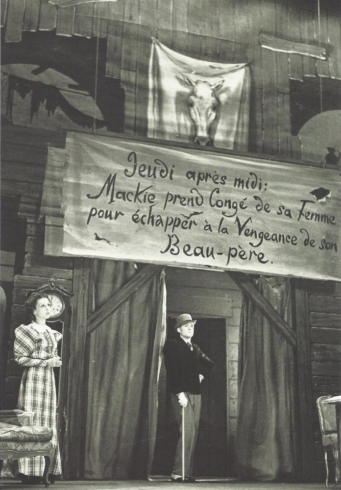 Renée Saint-Cyr et Raymond Rouleau dans