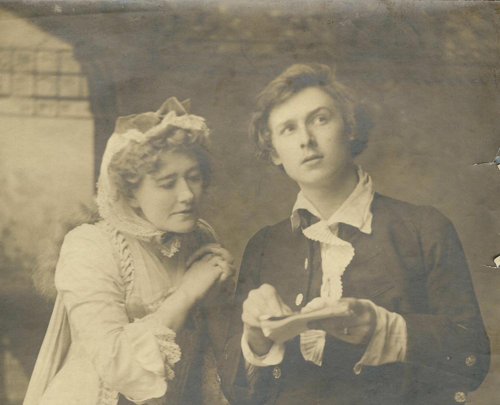 (Ellen Terry et son fils)