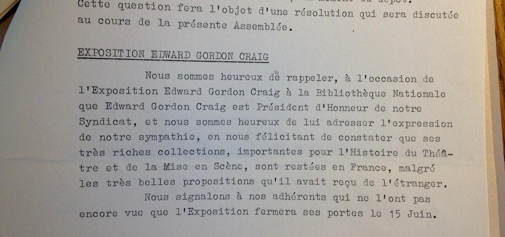 (Extrait du Rapport Moral du SNMS de 1962)