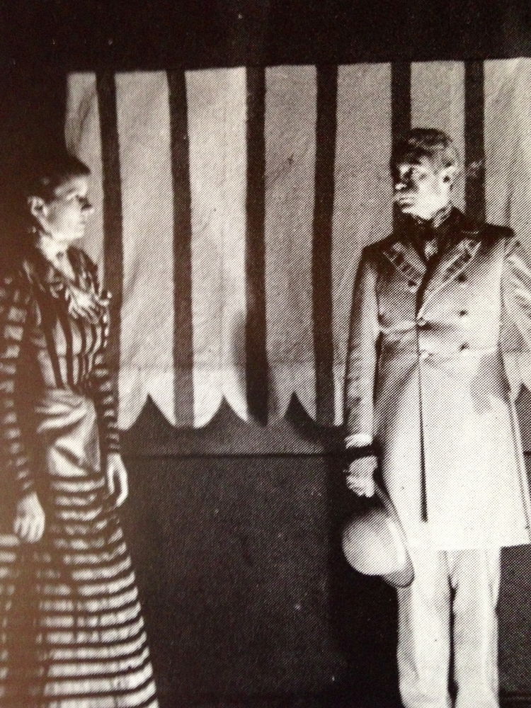 Hélène Gerber et Jean Vilar dans