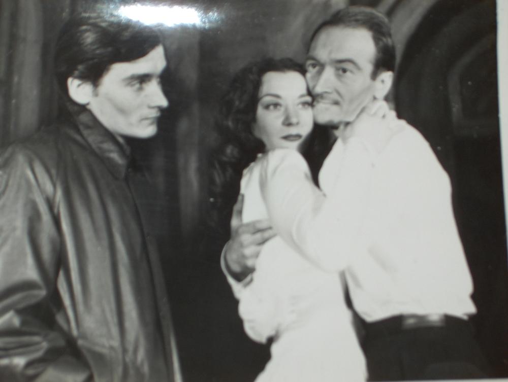 Michel Bouqet, Maria Casarès, Jean Vilar dans