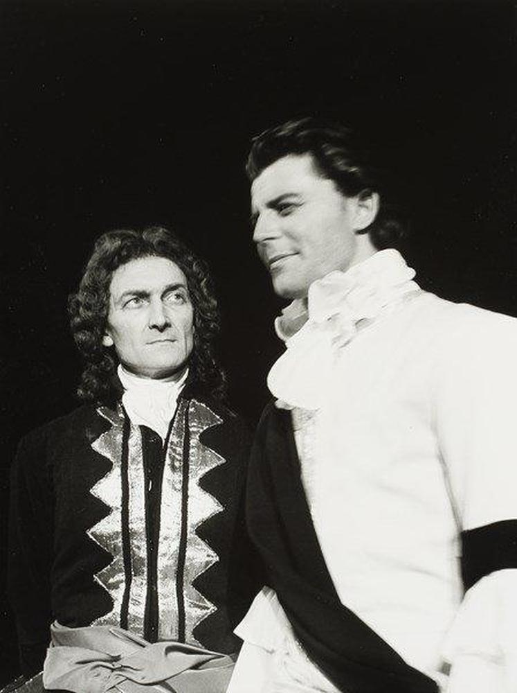 Jean Vilar et Gérard Philipe dans