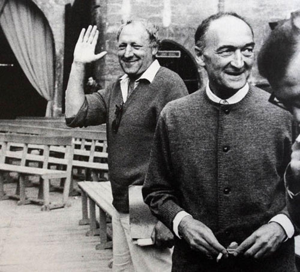 Geroges Wilson et Jean Vilar