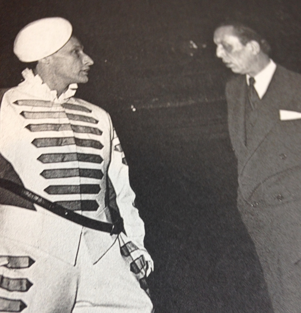 Jean-Louis Barrault et Louis Jouvet,