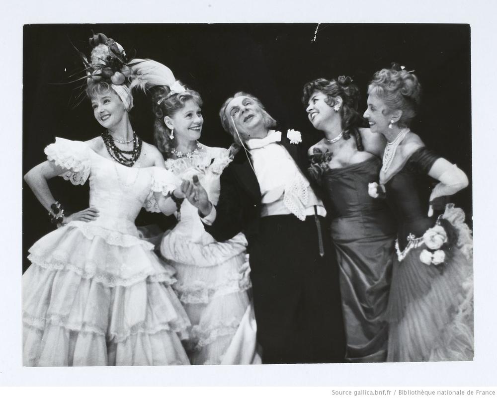 Simone Valère, Jacques Bertin, Suzy Delair, Madeleine Renaud
