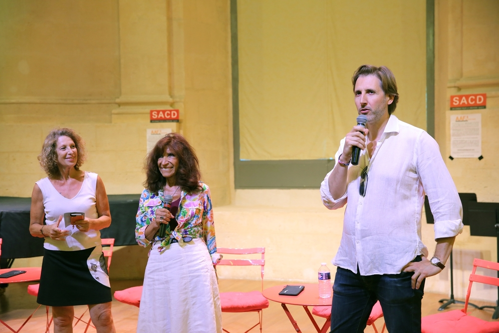 Tessa Volkine (AAFA), Michèle Laurence (EAT), Cyril Le Gris (SNMS)