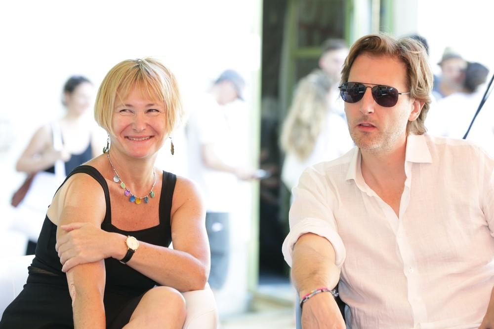 Florence Camoin et Cyril Le Grix