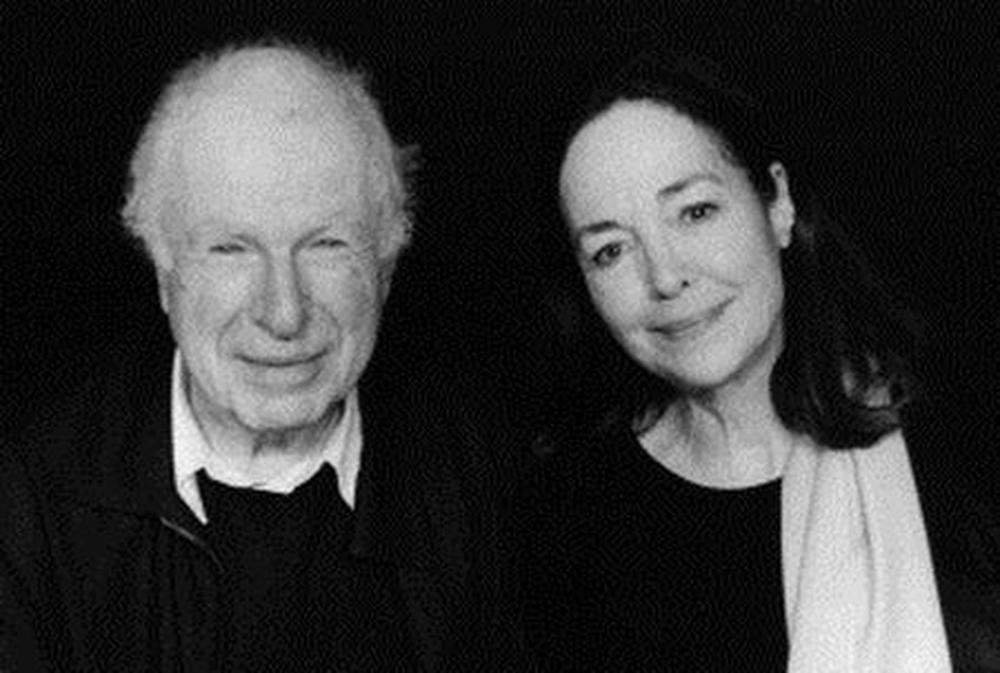 Peter Brook et Natasha Parry