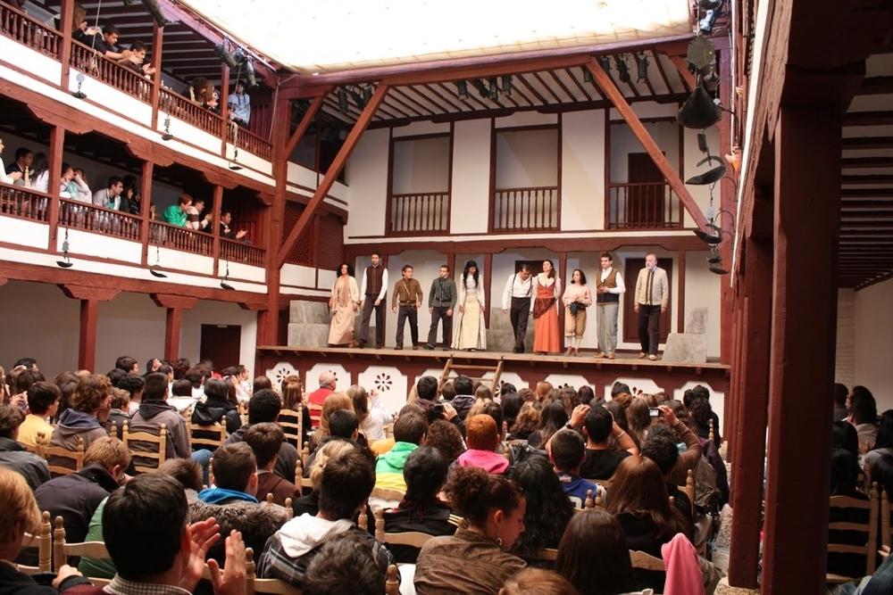 Une représentation au Corral de Comedias d'Almagro