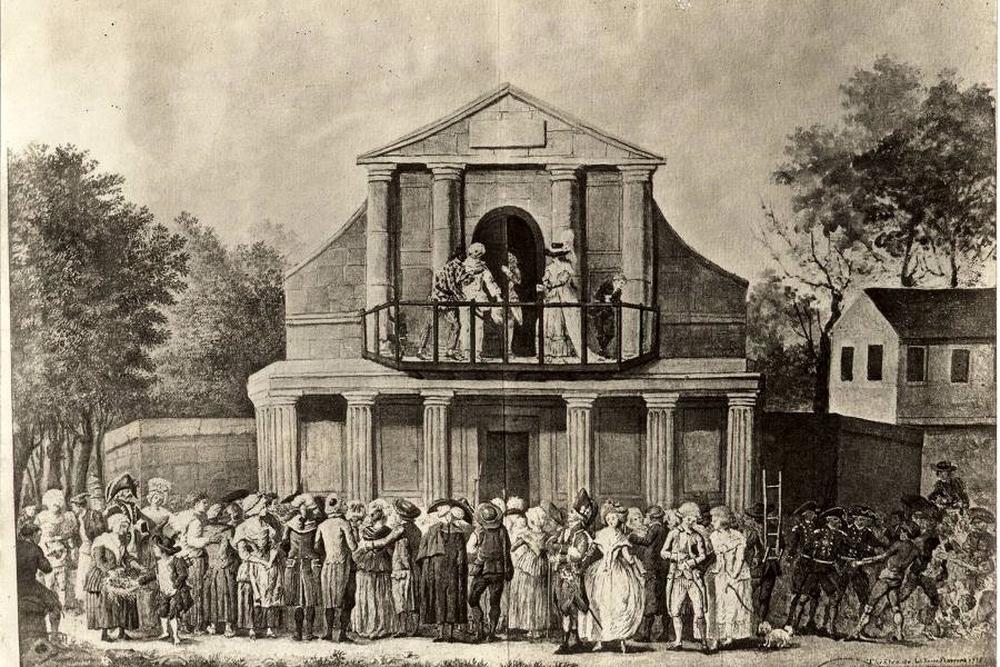 Le théâtre de la foire Saint-Germain