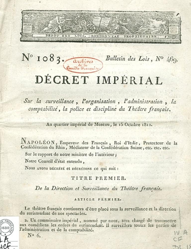 Le décret de Moscou