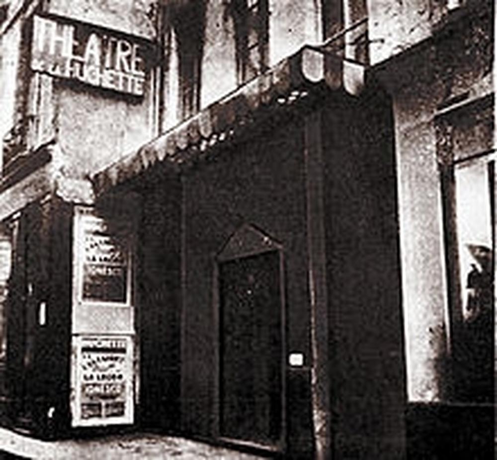 Le théâtre de la Huchette