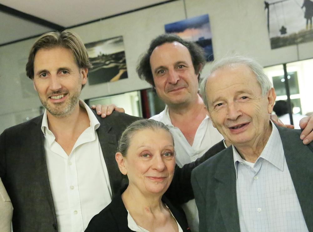Cyril Le Grix, Anne Delbée, Armand Eloi, Georges Werler