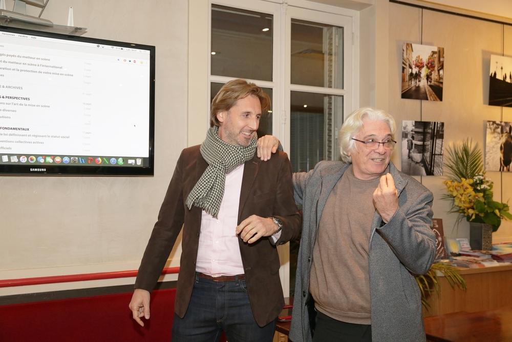 Cyril Le Grix et Jean-François Prévand