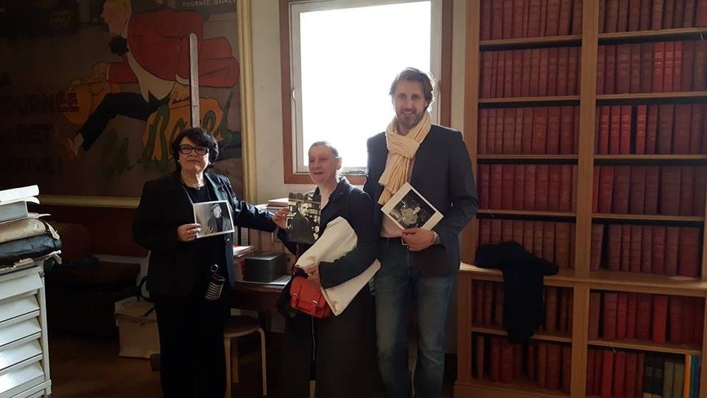 Danielle Mathieu-Bouillon, Anne Delbée (Présidente d'honneur), Cyril Le Grix