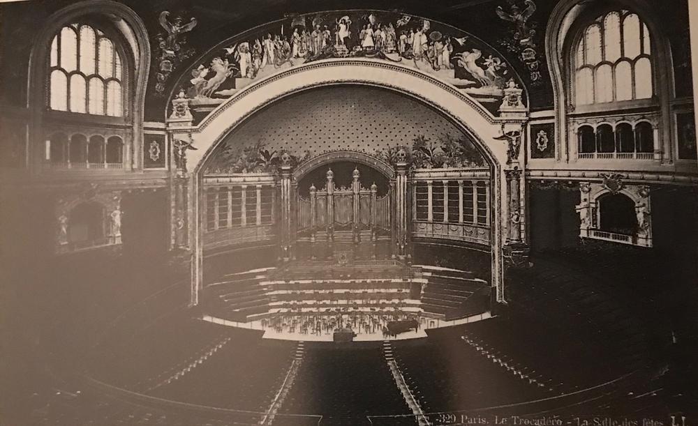 La salle du théâtre de Chaillot