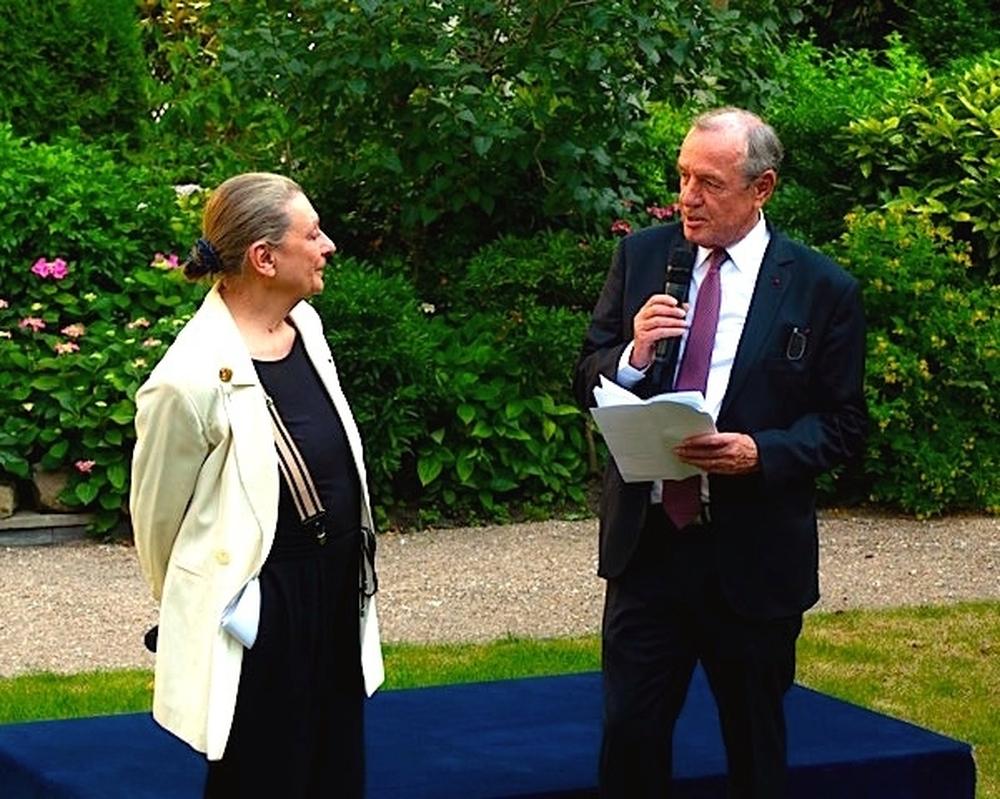 Anne Delbée et Françis Vallat