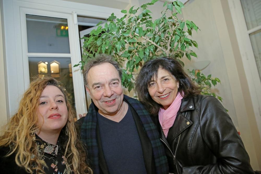 Audrey Bertrand, Pierre Pradinas, Panchika Velez